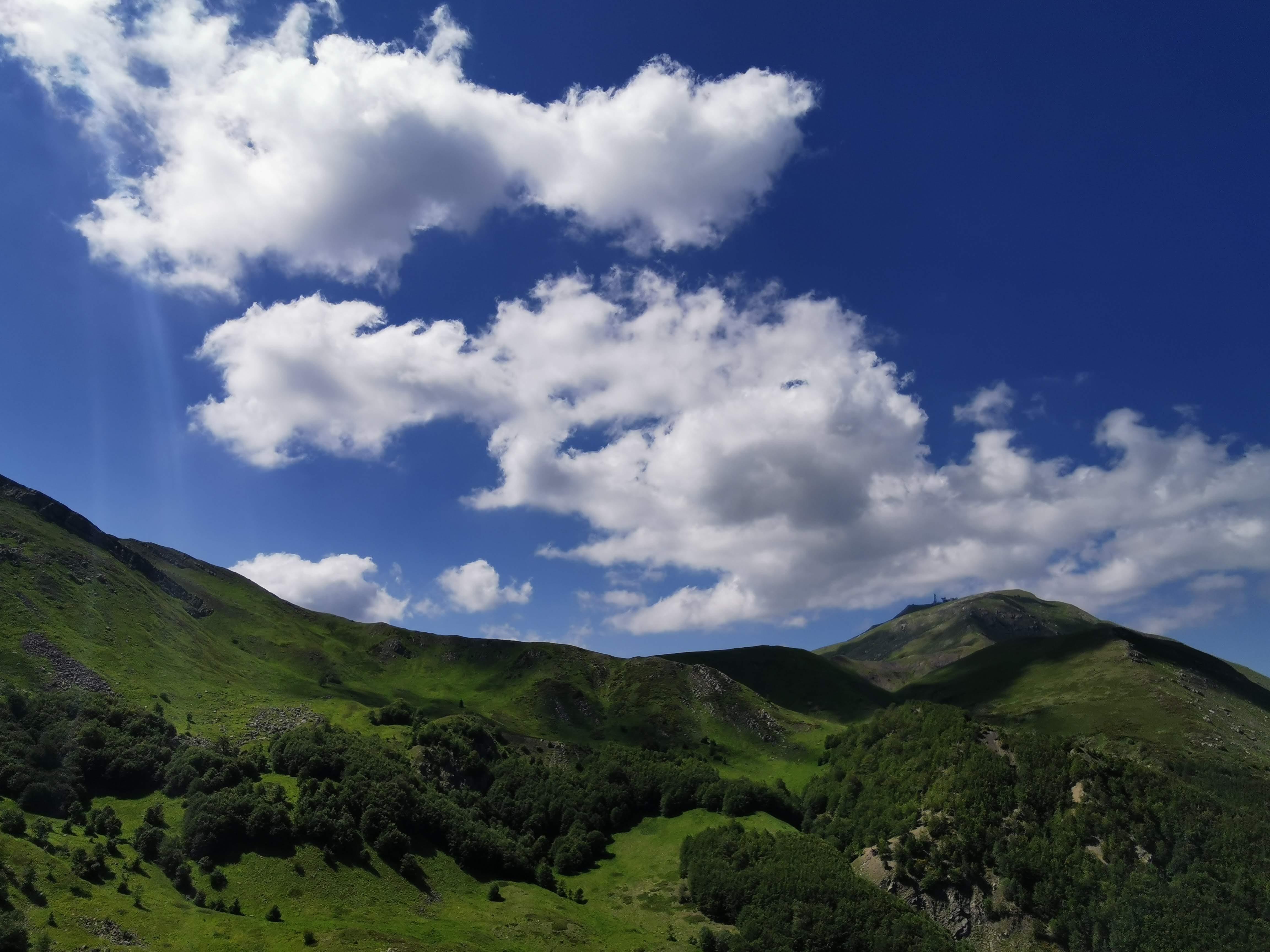 Panorama sul Monte Cimone