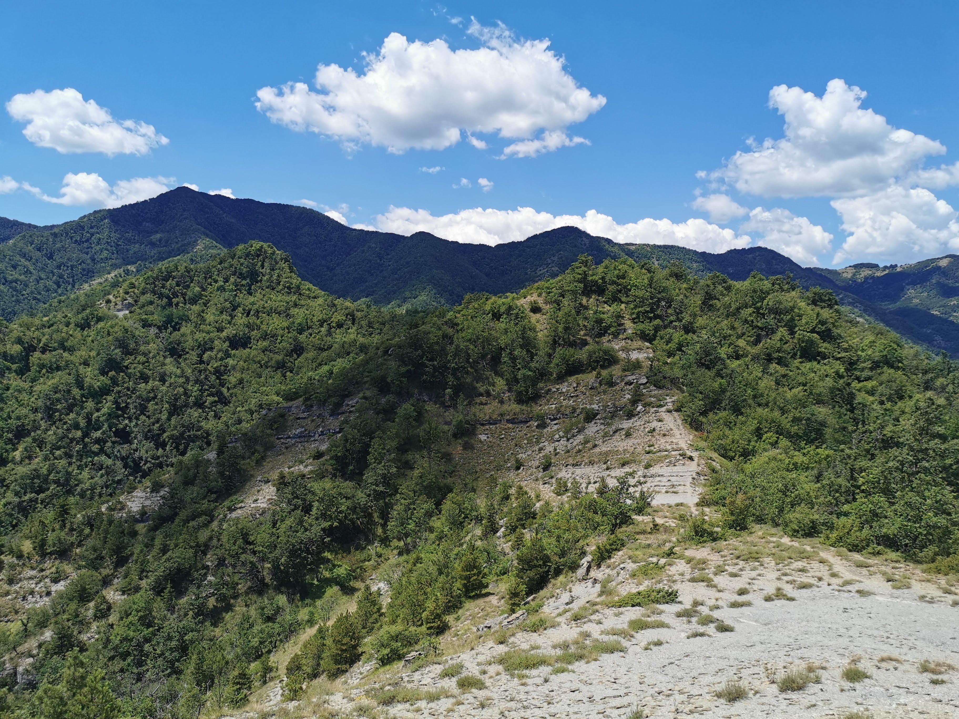 Crinale dell'Anello di campanara a Palazzuolo sul Senio