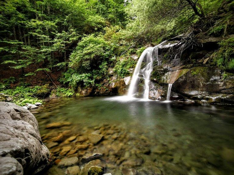 Sentiero delle cascate Sant'Annapelago - Cascata La Bandita