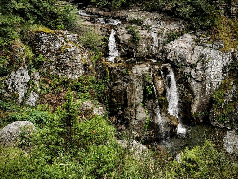 Sentiero delle cascate Sant'Annapelago - Cascata Cascadora