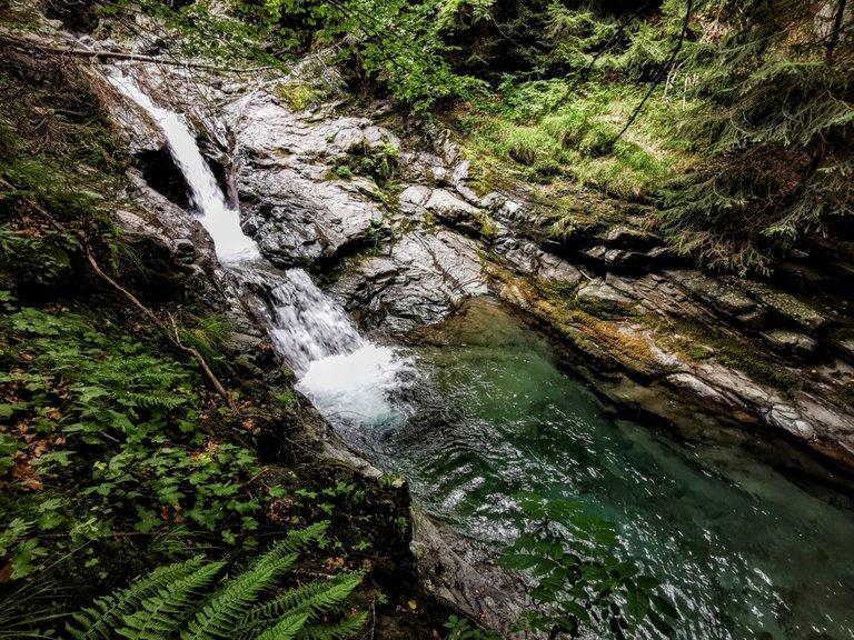 Sentiero delle cascate Sant'Annapelago - Cascata Pozzo del Pisano