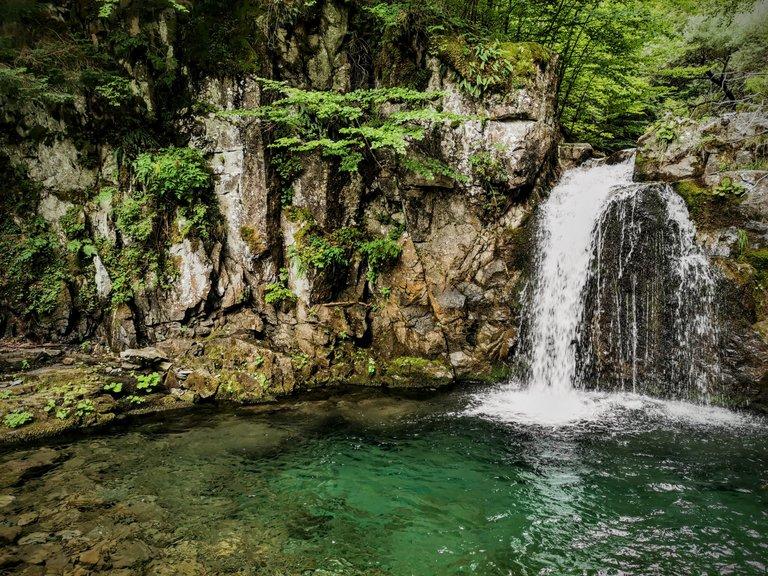 Sentiero delle cascate Sant'Annapelago - Cascata Rioo