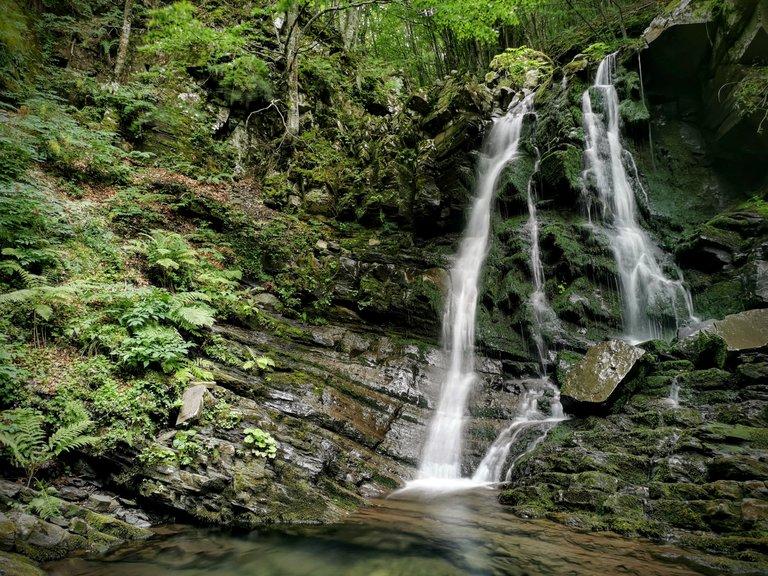 Sentiero delle cascate Sant'Annapelago - Cascata del Terzino