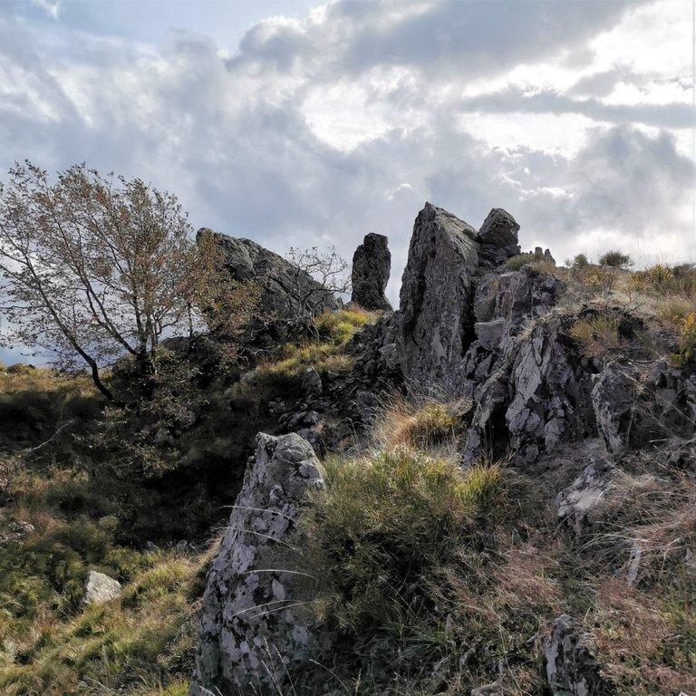 Buca delle Fate verso Monte Beni