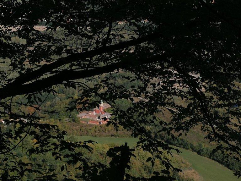 5 Valli, abitato di Sperticano, sentiero del postino