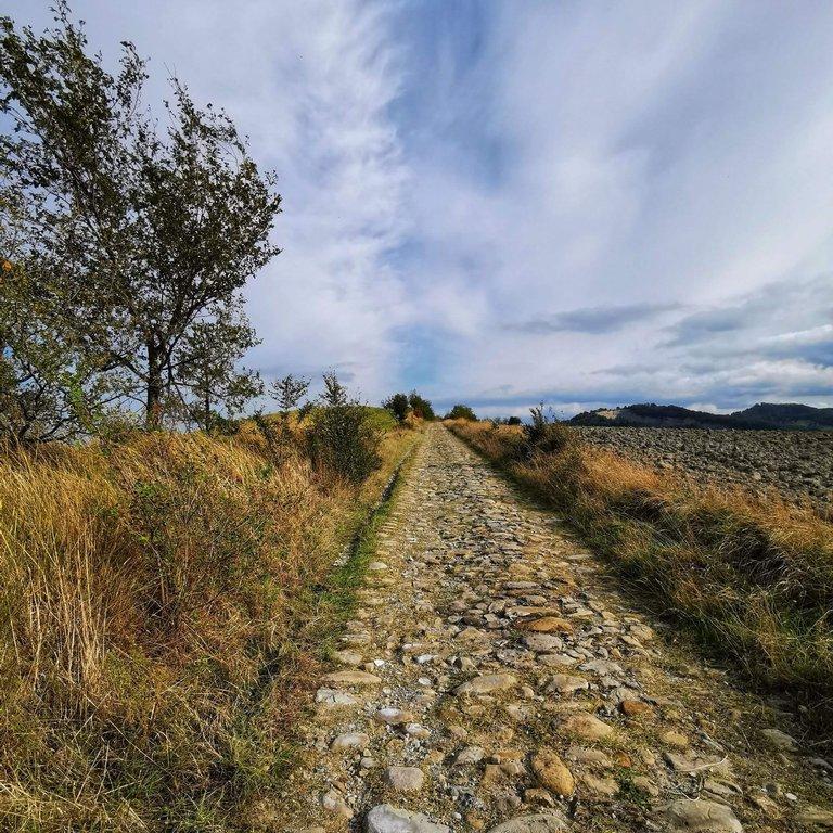 5 Valli, flaminia Minor strada romana